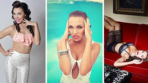 Zpěvačka Kamila Nývltová má mnoho podob...