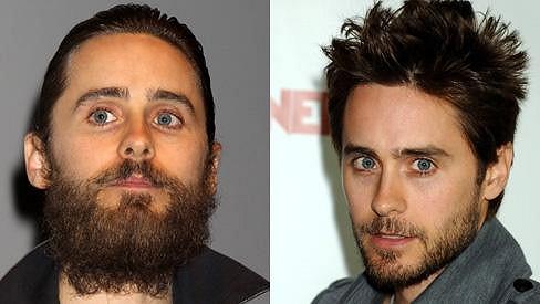 Jared Leto se hodně změnil.