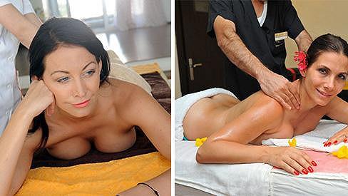 Celebrity si rády dopřávají příjemné masáže...