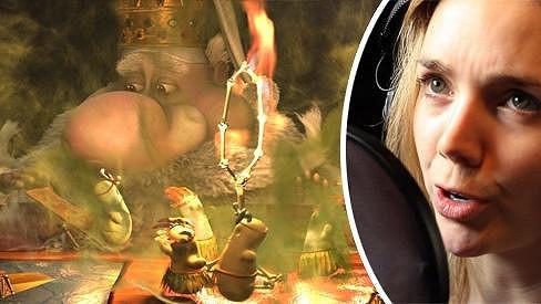 Lucie se stala speciálním hostem filmu Kozí příběh, kde si střihla několikanásobnou roli party syrečků.