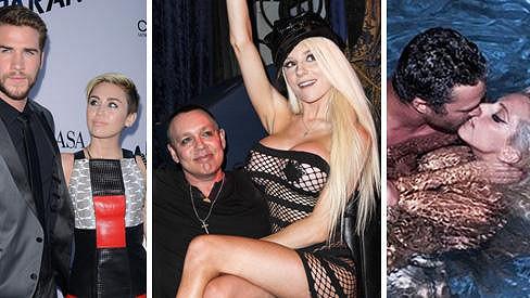 Loni zůstala sama Miley Cyrus, Courtney Stodden i Lady Gaga.