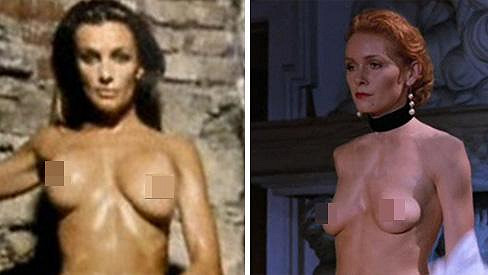 Oblíbené seriálové herečky neměly s nahotou na filmovém plátně sebemenší problém.