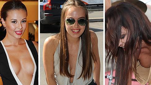 Která dáma v roce 2013 oslnila největším výstřihem?