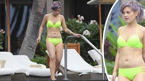 Kelly Osbourne před dvěma lety hodně zhubla.