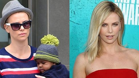 Charlize Theron přišla kvůli roli o své blond lokny.