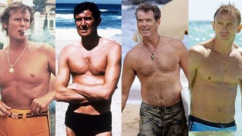 Jaký James Bond byl nejvíc sexy?