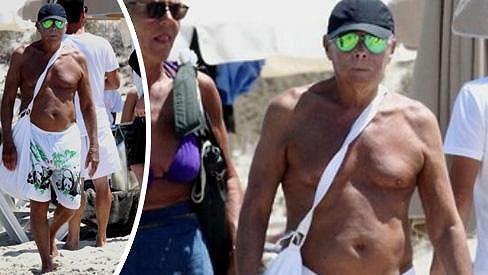 Giorgio Armani údává trendy ve světě módy...