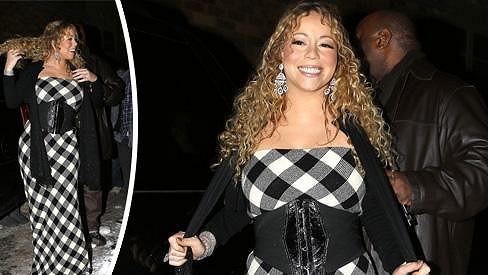Mariah Carey a její módní trefa vedle.