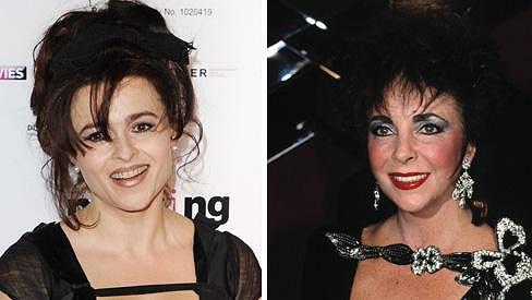 Helena Bonham Carter hraje Elizabeth Taylor.