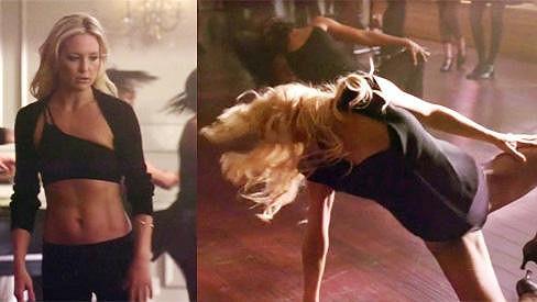 Kate Hudson v seriálu Glee.