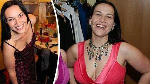 Jana Rychterová shodila 15 kilo. Úbytek v oblasti hrudníku je patrný pouhým okem.