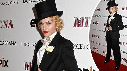 Madonna vzdala poctu své modle Marlene Dietrich.