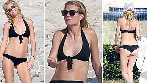 Gwyneth na dovolené v Mexiku