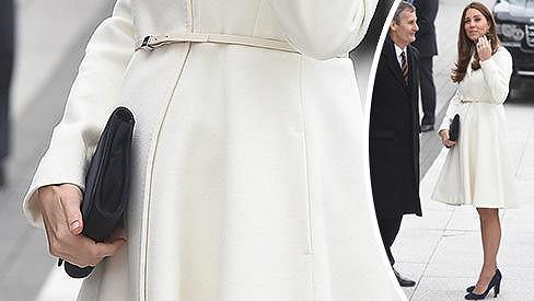 Vévodkyně z Cambridge je už v sedmém měsíci těhotenství.