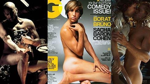 Bruce Willis, Sacha Baron Cohen a Brad Pitt. Který by to u vás vyhrál?
