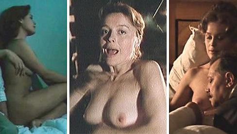 Magda Vášáryová se kolem třicítky odhalovala.