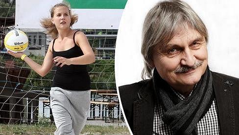 Patricie Soukupová je dcera k nezaplacení. Tatínkovi vyhrála láhev dobrého alkoholu.