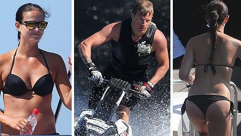 Kimi Räikkönen je s přítelkyní na dovolené na Korsice.