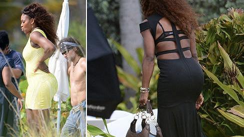 Serena Williams fotila v Miami.