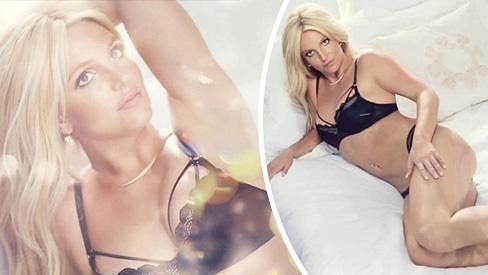 Britney Spears se předvedla v sexy kampani.