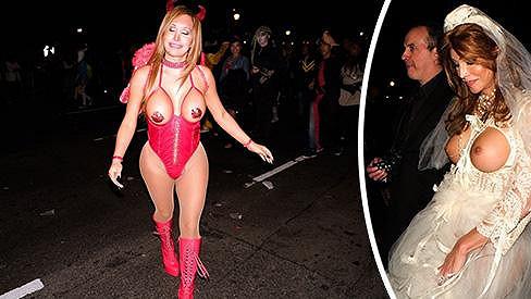 Takhle se v New Yorku slavil Halloween.