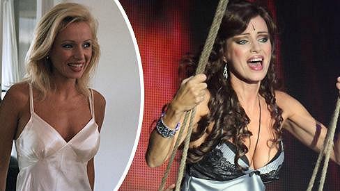 Dopomohla si herečka k dekoltu plastickou operací?