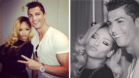 Rihanna a její fanoušek Ronaldo