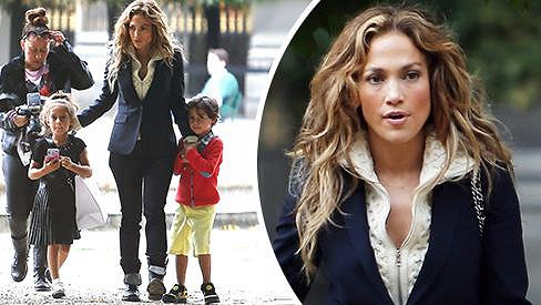 Jennifer Lopez jako maminka.