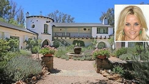 Reese Witherspoon prodává tento krásný ranč.