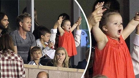 Bez takové podpory nemůže tým Los Angeles Galaxy s Davidem Beckhamem prohrát.