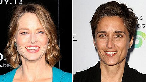 Nový hollywoodský pár tvoří Jodie Foster a Alexandra Hedison.
