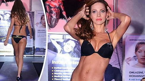 Andrea Verešová má dokonalé tělo, jako by nikdy nerodila.