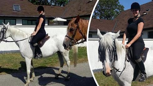 Ornella na koni