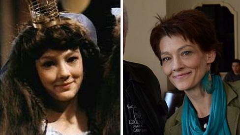 Monika Kvasničková na dvou fotkách, které dělí třicet let.