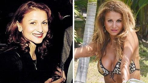 Yvetta Blanarovičová před patnácti lety a dnes....