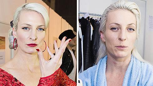 Která tvář Anny Polívkové se vám líbí víc?