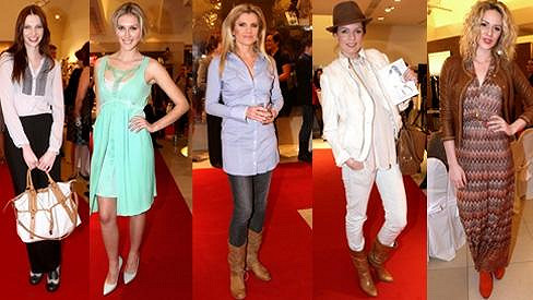 Jak se oblékají slavné dámy na přehlídky?
