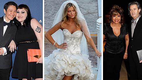V roce 2013 oblékla svatební šaty krásná Joanna Krupa. Pod čepec šly i Tina Turner a Beth Ditto.