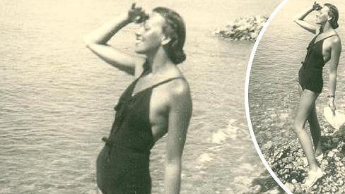 Jiřina Sedláčková byla ve třicátých letech rozhodně nejhubenější a nejplošší herečkou.