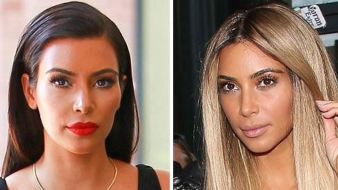 Kim Kardashian je jako chameleon.