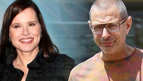 Jeff Goldblum a Geena Davis po pětadvaceti letech od filmu Moucha.