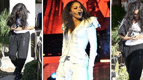 Janet Jackson a její proměna během roku.