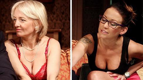 Veronika Žilková a Agáta Prachařová ukázaly sexy dekolty.