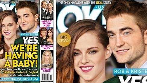 Kristen Stewart a Robert Pattinson údajně čekají potomka.