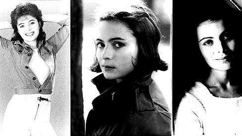Libuše Šafránková na fotkách z mládí.