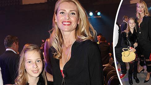 Daniela Peštová s dcerou