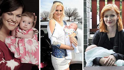 Celebrity letos rodily potomky jako o závod.