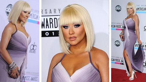 Christina Aguilera na American Music Awards.