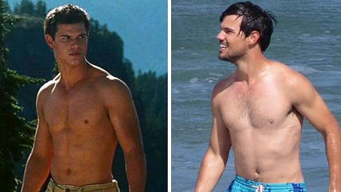 Taylor Lautner nemůže být věčně vlkodlakem z Twilight.