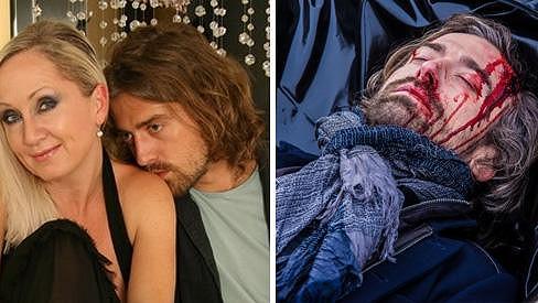Petr Polák skončí v igelitovém pytli na mrtvoly.